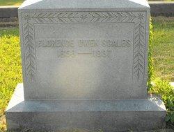 Florence Annette <I>Owen</I> Scales
