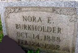 Nora E <I>Eutsey</I> Burkholder
