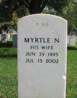 Myrtle E N Adams