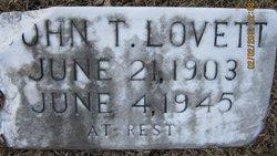 John T. Lovett
