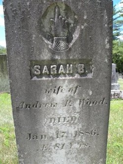 "Sarah ""Sally"" <I>Boynton</I> Wood"