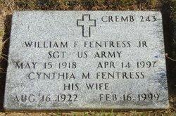 William F Fentress, Jr