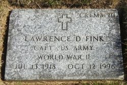 Lawrence D Fink