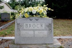 Emma Dinah <I>Spearman</I> Brock