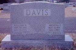 "Ardena F. ""Dena"" <I>Hensley</I> Davis"