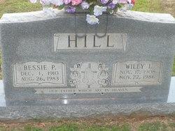 Bessie <I>Parnell</I> Hill