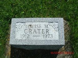Louise M <I>Waite</I> Crater