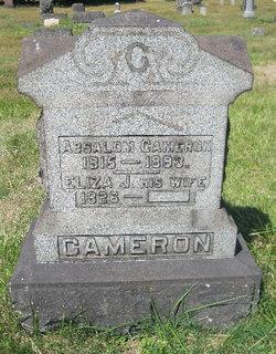 Eliza J <I>Caddes</I> Cameron