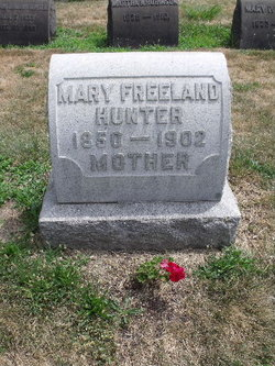 Mary <I>Freeland</I> Hunter