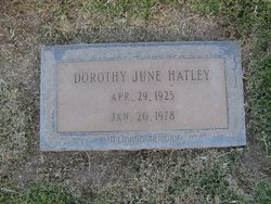 Dorothy June Hatley