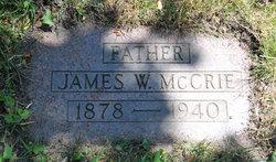 James Wellington McCrie