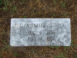 Della M <I>Parker</I> Alldred