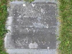 Isabella M. <I>Thompson</I> Brown