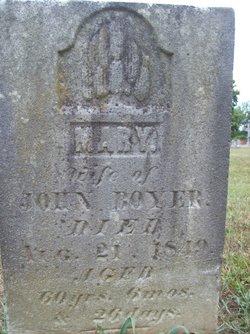 Mary <I>Rowe</I> Boyer