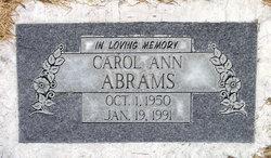 Carol Ann Abrams