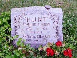 Anna A <I>Challet</I> Hunt