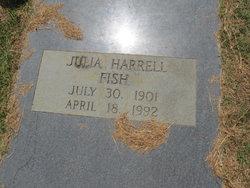 Julia <I>Harrell</I> Fish