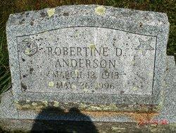 Robertine D Anderson