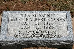 Ella M. Barnes