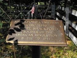 Shackford Family Cemetery