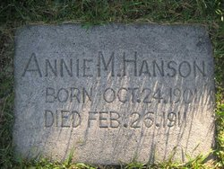 Annie Maria Hanson