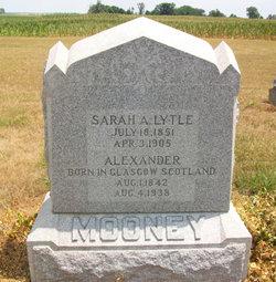 Sarah A. <I>Lytle</I> Mooney