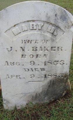 Mary Jane <I>Vestal</I> Baker