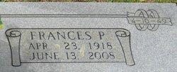 Frances <I>Ponder</I> McBryde