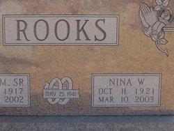 Nina W. <I>Sullivan</I> Rooks