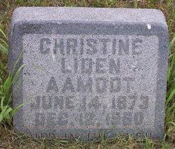 Christine <I>Liden</I> Aamodt
