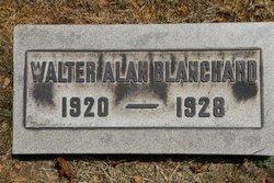 Walter A Blanchard