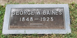 George Washington Baines, II