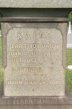 Abiel Bartholomew