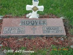 Maxine Elizabeth <I>Jones</I> Hoover