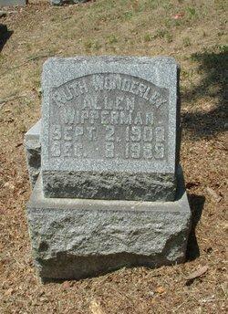 Ruth Allen <I>Wipperman</I> Wonderley