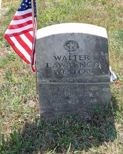 Capt Walter Lawrence Weston