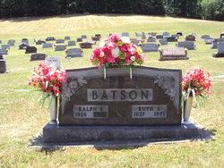 Alberta Ruth <I>Hebrock</I> Batson