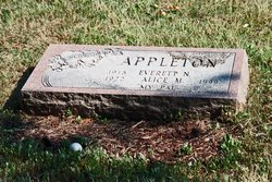 Alice May <I>Field</I> Appleton
