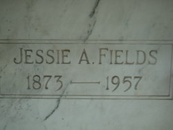 Jessie A <I>Warner</I> Fields