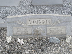 Donnie <I>Baker</I> Adkinson