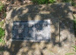 Pearl <I>Bauer</I> Dungen