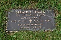 Gerald A Cusack
