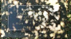 PVT Harry F Ridgway