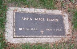 Anna Alice <I>Kosse</I> Fraser