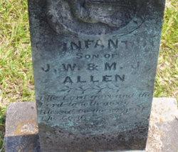 Infant Son Allen