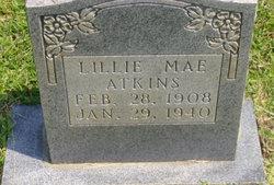 Lillie Mae <I>Wooten</I> Atkins
