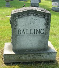 Josephine M <I>Klaiber</I> Balling