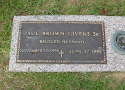 Paul Brown Givens