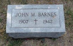John M Barnes