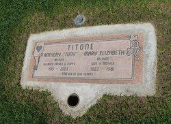 """Anthony """"Tony"""" Titone"""
